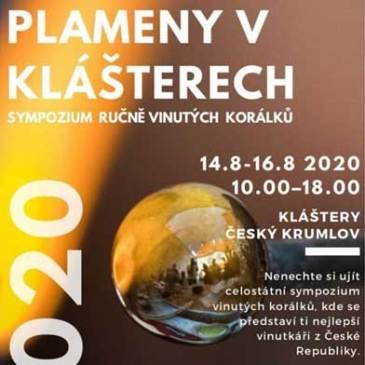 Plameny VKlášterech – Sympozium vinutých perel 2020