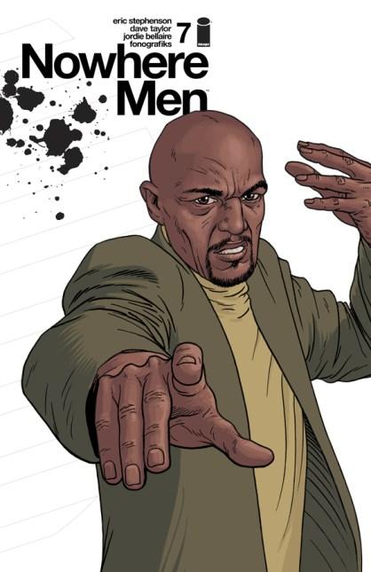 Comics for 2016 - Nowhere Men #7