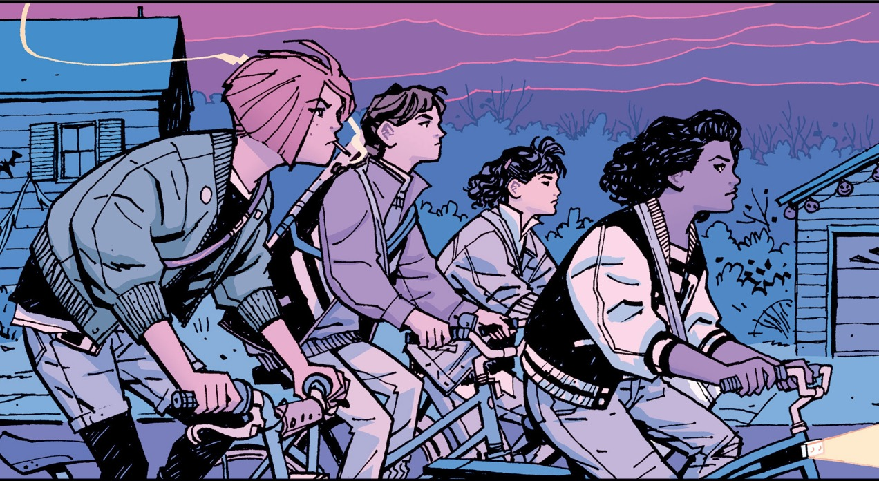Image result for paper girls