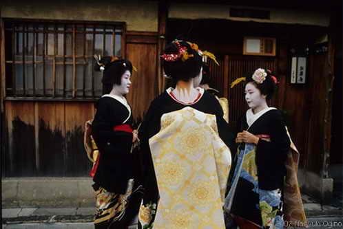 Красивые фото японского наследия Гейши