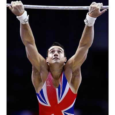 В Лондоне на арене O2 Arena прошел Международный чемпионат по гимнастике. На фото финалист из Великобритании Кристиан Томас