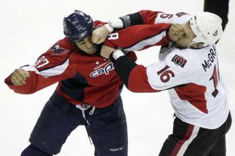 хоккейный бой