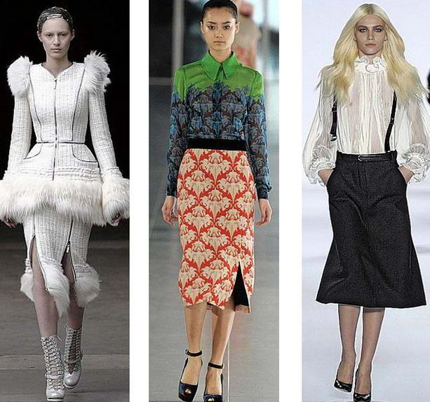 Осень зима мода