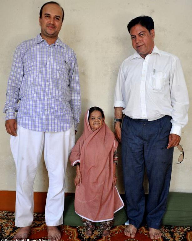 Самой пожилой карлице в мире исполнилось 113 лет