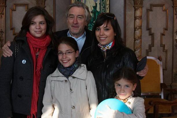 Роберт де Ниро дети
