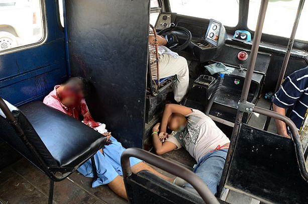 Убийство в автобусе