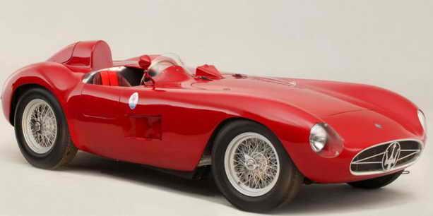 Мазерати 1955 года продан за 6 млн. долларов
