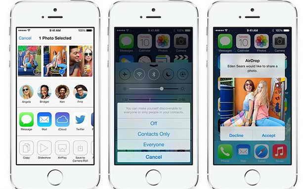 iOS 7 смартфонов iPhone 5S