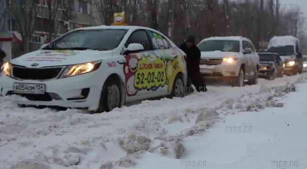 снежная стихия в волгограде