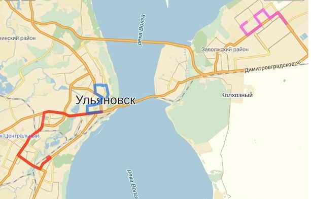 Эстафета в Ульяновске