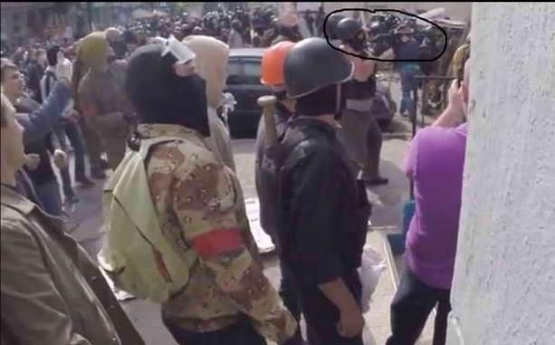 Боевики в Одессе