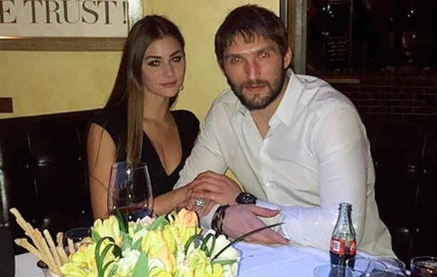 хоккеист Александр Овечкин Анастасия Шубская