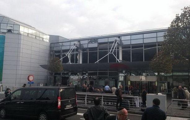 аэропорт Брюссель взрыв