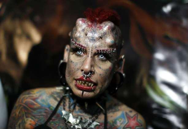 женщина вампир Кристерна