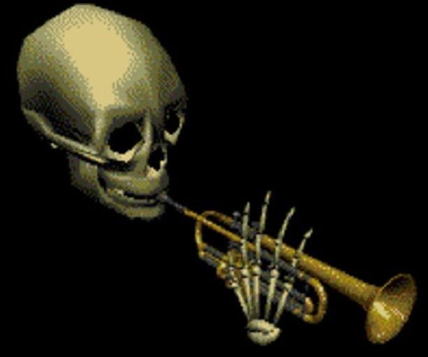 мистер Дудец Skull Trumpet мем