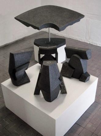 Tempelprojekt. 2008-2009, granit