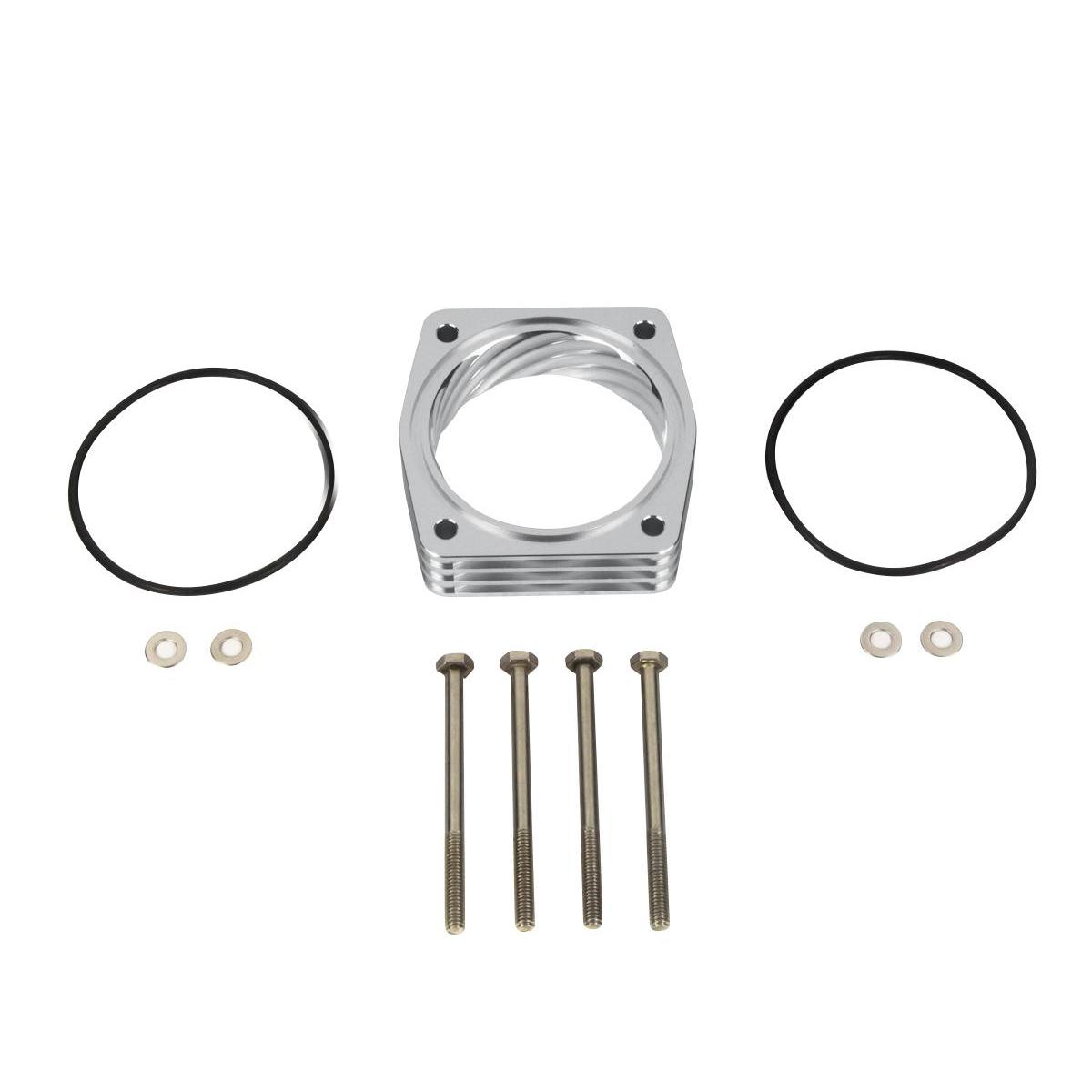Fits Nissan Silver Throttle Body Spacer Kit Altima