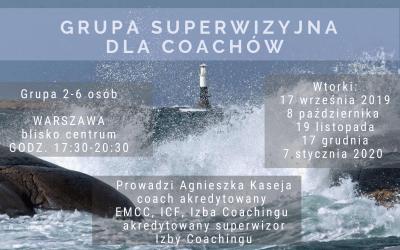 Rusza nowa grupa superwizyjna dla coachów w Warszawie