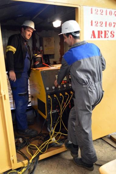 Obrada čelika za PROJEKT MOSE/Brodosplit/Uređaji za elektrootporno zagrijavanje /FOTO Škveranka