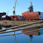CROATIAN KNOW-HOW Brodosplit delivered 'Grand Blocks' for Fincantieri Group PHOTO GALLERY