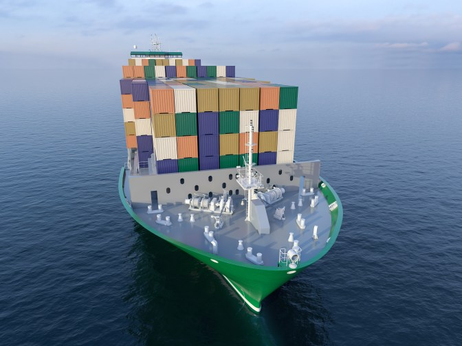 LNG-fuelled container ship/Brodosplit