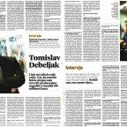 Tomislav Debeljak 7.2.2016. Večernji list
