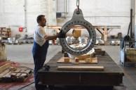 BRODOSPLIT Strojna obrada superduplex-a za projekt MOSE - Izrada kruna za samopodesive ležajeve oko kojih se okreću 320-380 tona teška čelična vrata koja škverani grade za obranu Venecije od poplava