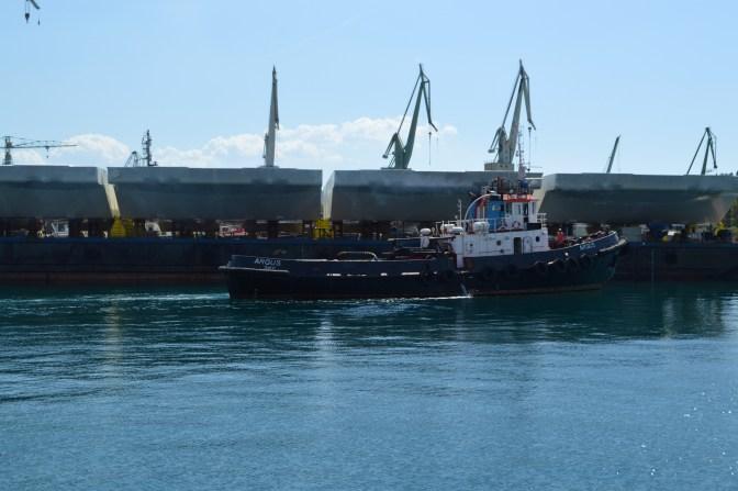 Brodosplit - Projekt Mojsije - Transport, 3.9.2016. - FOTO Škveranka