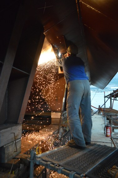 BRODOSPLIT - Porinuće Novogradnje 525 - FOTO Škveranka