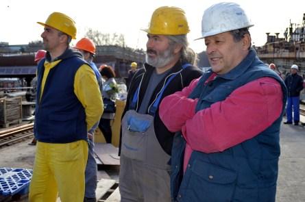 Polaganje Novogradnje 545 – Brodosplit 23.1.2017. - FOTO Škveranka