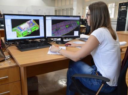 Brodosplit PROJEKT - 3D modeliranje ventilacije za Novogradnju 484