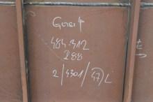 Oznake na limovima grupe 312 za Novogradnju 484