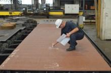 Obrada čelika za Nov. 484 na stroju za rezanje limova acetilenom i kisikom CNC ESAB ERGOREXI EXA 6500
