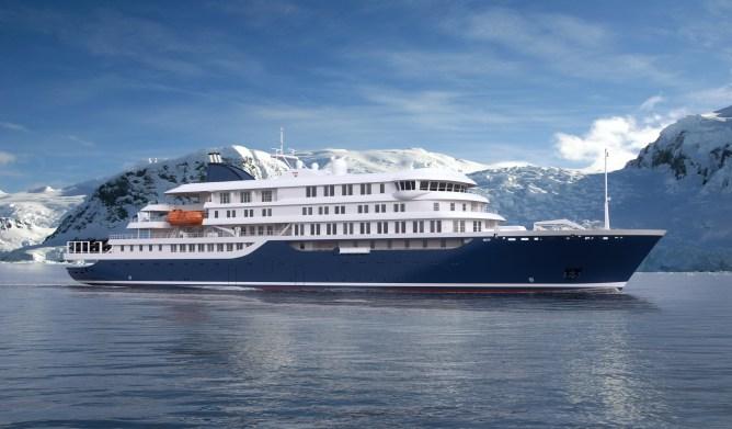Brod za krstarenja polarnim područjima