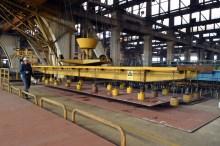 Transport limova unutar Brodosplitove brodoobradne radionice