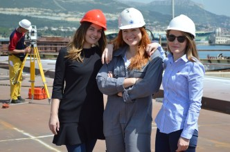 Brodosplit gradi celicne segmente za most Ciovo - FOTO Skveranka 25.4.2018