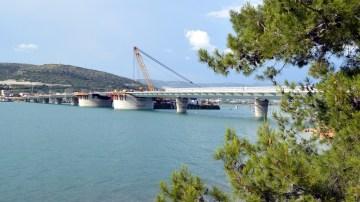 Brodosplit - Izgradnja, transport, isporuka i ugradnja rasponskih segmenata celicne konstrukcije mosta Ciovo FOTO Skveranka