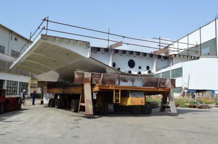Izgradnja prvog celicnog segmenta za Most Ciovo (11)