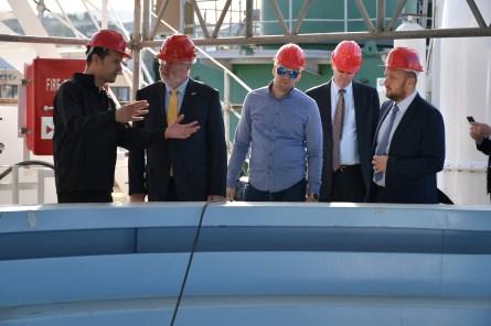 Veleposlanik Amerike posjetio Brodosplit 23.10.2018.