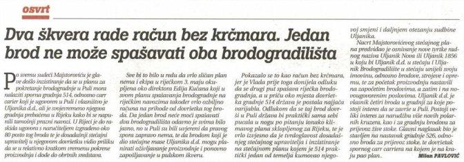 Izdvojeno iz tiskanog izdanja Glasa Istre, 7.9.2019.