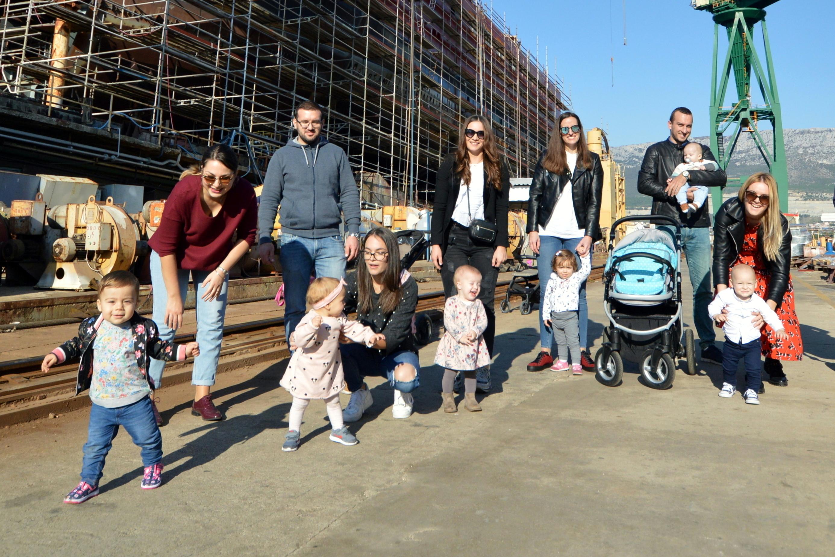 Nove bebe u Brodosplitovoj obitelji