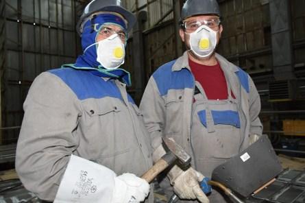 Škverski specijalci u akciji na zaštićenom prostoru Brodosplit Brodogradilišta specijalnih objekata