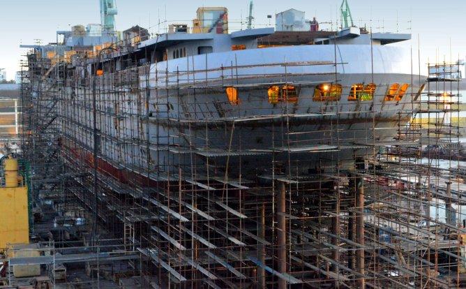 Brodosplit gradi najveci jedrenjak na svijetu - Nov. 483 - FOTO Skveranka