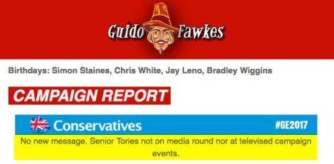 fawkes no tories