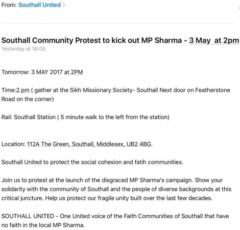 southall united protest