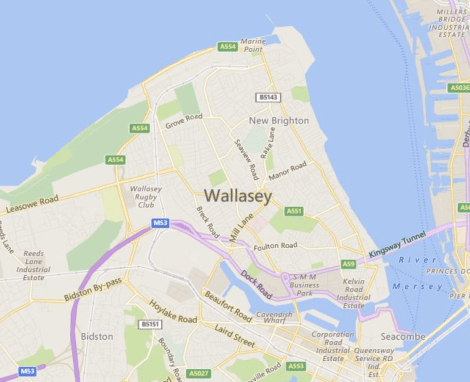 wallasey map