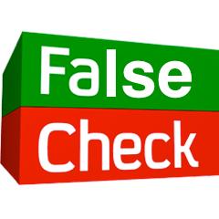 false check