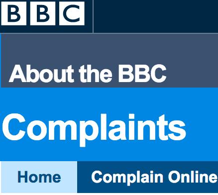 bbc complaints
