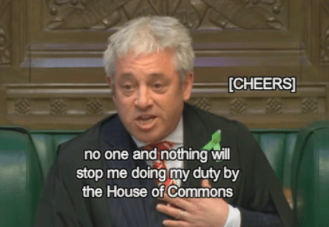 bercow leadsom
