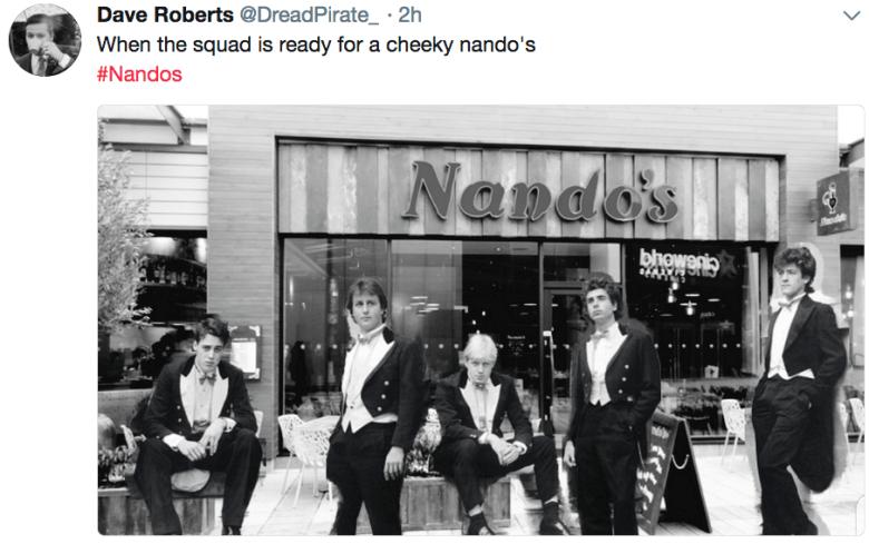 dr nandos